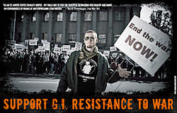 """Support GI Resistance to War"" poster available"
