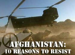 Afghanistan: Ten reasons to resist