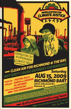 Why we protest Chevron