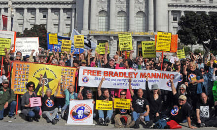 Over 20 cities rally support for Bradley Manning