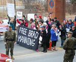 Military steps up retaliation against Bradley Manning