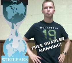 Support grows for Manning; Confinement conditions protested