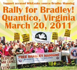 Quantico, VA: Rally for Bradley! March 20