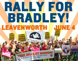 Rally for Bradley at Leavenworth, June 4th