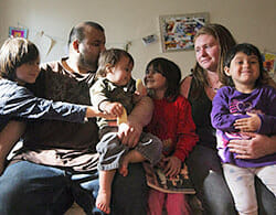 The dire situation of objector Kimberly Rivera and her family