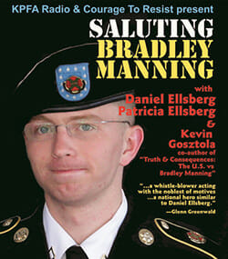 Saluting Bradley Manning, 1/31 Berkeley CA benefit