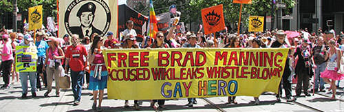 LGBTQ leaders uphold Bradley Manning Pride honor