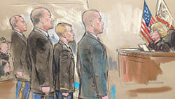 Bradley Manning acquitted of aiding enemy