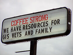 Coffee Strong reborn as GI Rights counseling center