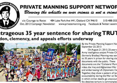Pvt. Manning October 2013 Newsletter