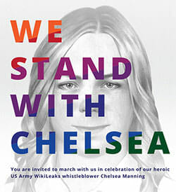 Pride 2014: We stand with Chelsea Manning