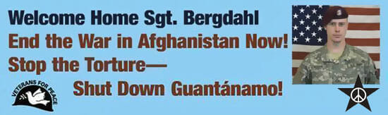 Welcome home Sgt. Bergdahl!