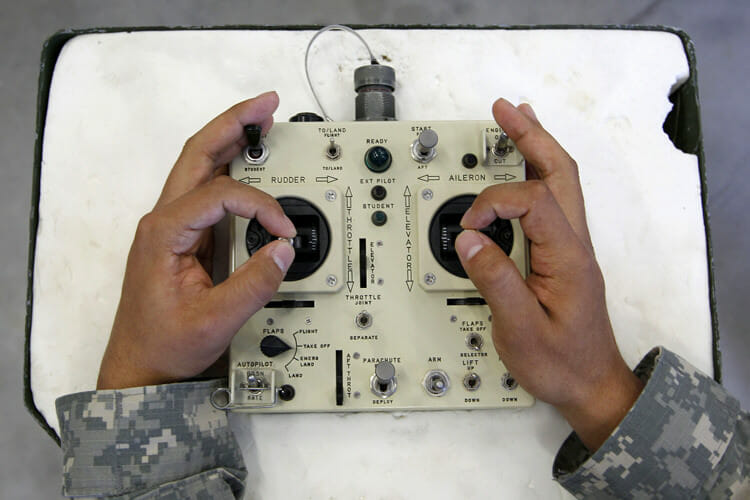 Vet comes forward: Drones more dangerous than gov't admits