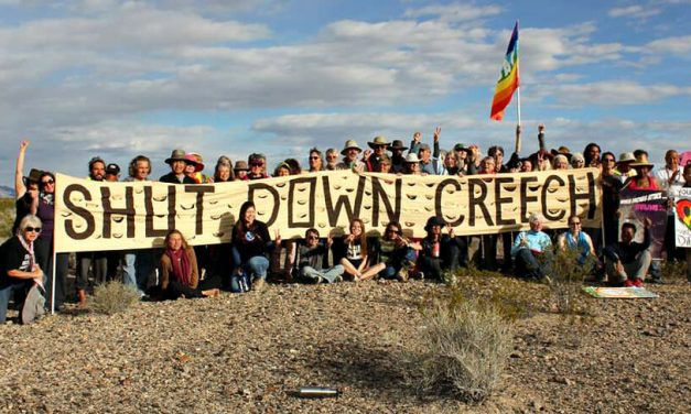 20+ arrested at week-long protest at Creech Air Force Base