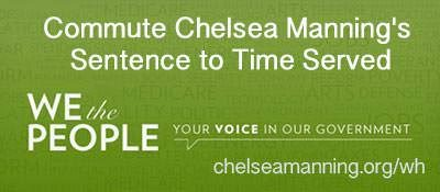 Support Chelsea Manning's petition to reduce sentence