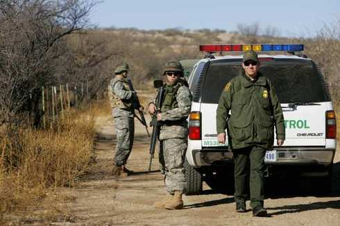 national guard border patrol