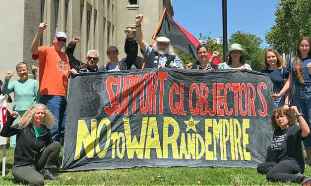 Celebrate Int'l Conscientious Objectors Day with us (Berkeley CA, May 15)