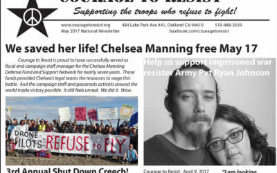 May 2017 Newsletter: Chelsea, Ryan Johnson, Creech & Empire