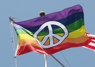 peace flag banner