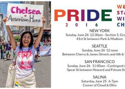 Pride in Chelsea Manning 2016