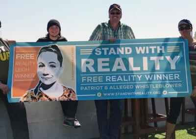 Resister, whistleblower Reality Leigh Winner