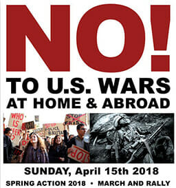 No to U.S. Wars at Home and Abroad! @ Lake Merritt Amphitheater | Oakland | California | United States