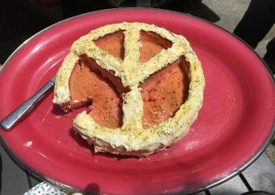 Peace cake!