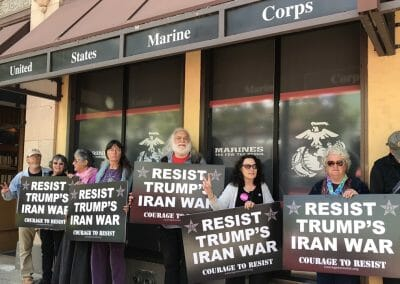 Resist Trump's Iran War!