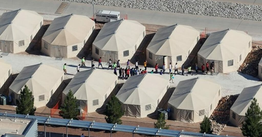 immigrant camps