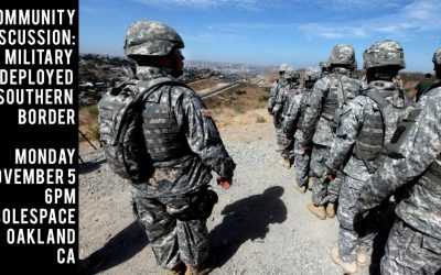 Nov. 5 event: Trump orders military to southern border and military law presentation