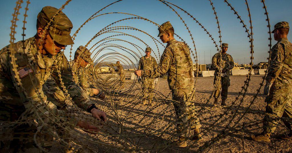 border razor wire