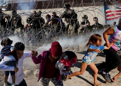 Troops ordered to engage in illegal law enforcement near US-Mexico border