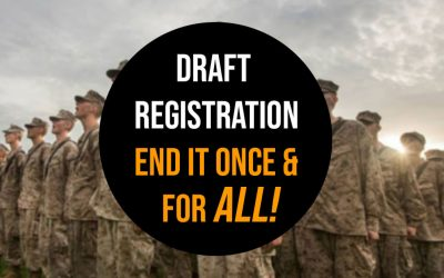 Press Release: US Teens will be impacted by changes in military draft laws