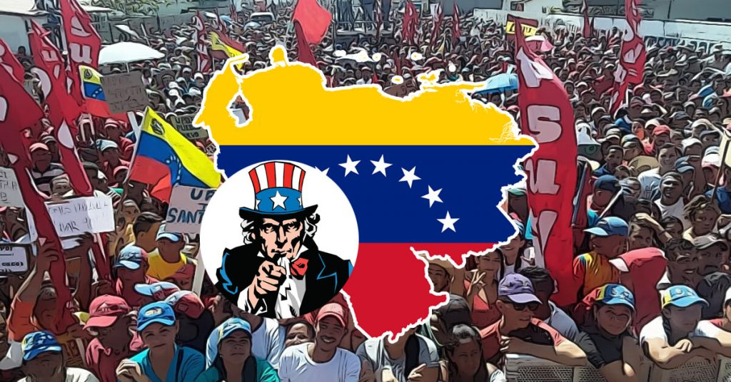 us hands off Venezuela