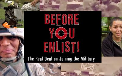 "Watch this short video ""before you enlist!"""