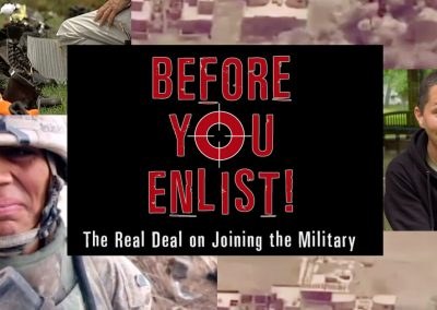 """Watch this short video """"before you enlist!"""""""
