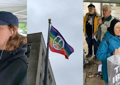 International Conscientious Objectors' Day 2019 Report and Photos