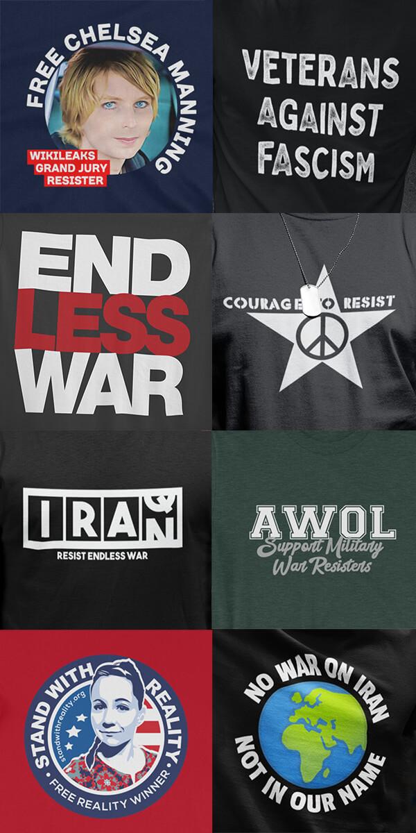 Left Together Protest Shirts
