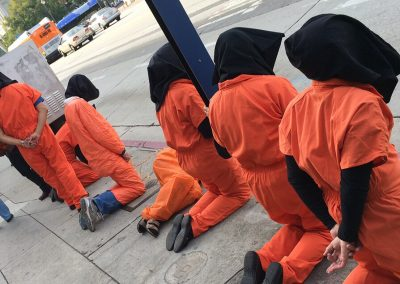 """Close Guantanamo NOW"" event, Los Angeles, Jan. 10"