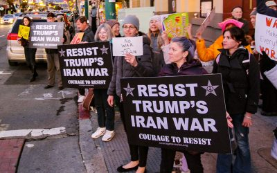 Global Day of Protest: No War On Iran! Sat. Jan. 25th