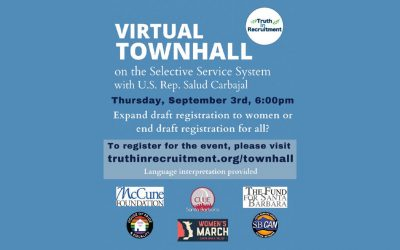 Town Hall: Will Congress Expand Military Draft Registration to Women?