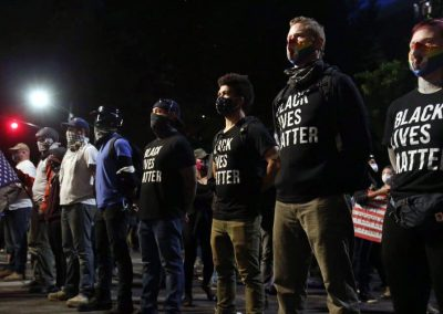 Veterans putting their bodies on the line for Black lives and democracy