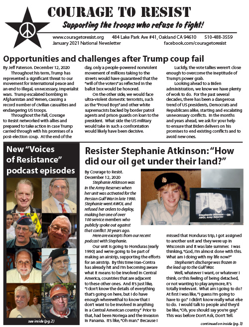 Our most recent PDF newsletter